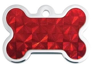Hueso Rojo con holograma inserto (PLU 2921)