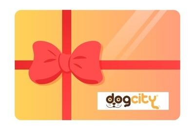 Tarjeta regalo Dog City