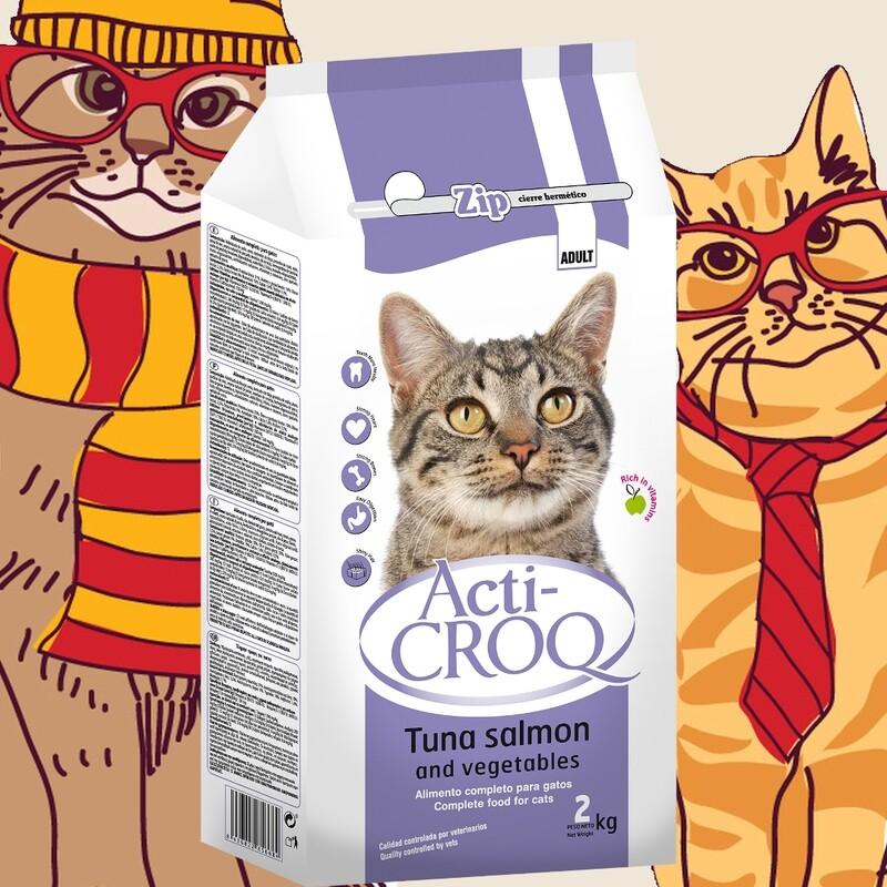 Acti-Croq Tuna & Salmon 2 kilos