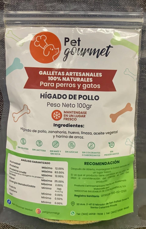 Hígado de pollo 100 gramos