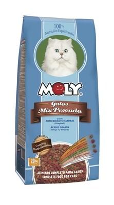 Moly Mix Pescado para Gatos 1.5Kg