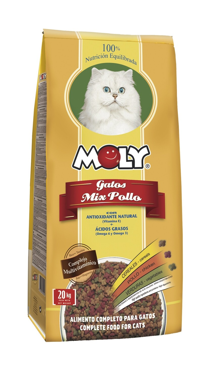 Moly Mix Pollo para Gatos 1.5Kg
