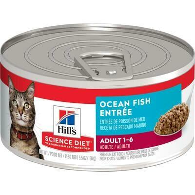 SD Adult Ocean Fish 5.5 onzas CAT FOOD