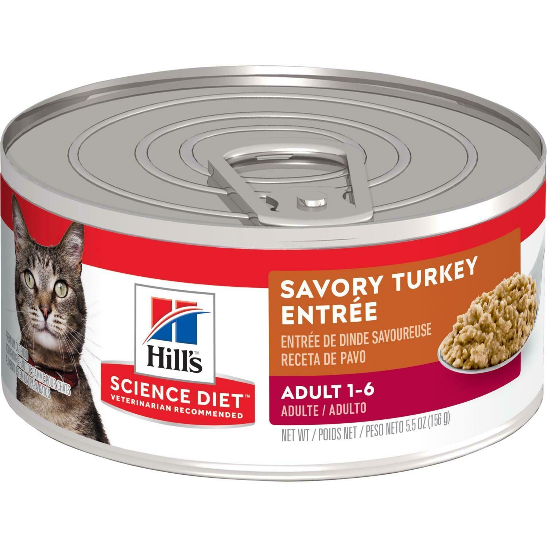SD Adult Turkey (pavo) lata 5.5 onz CAT FOOD