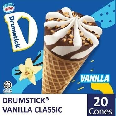 NESTLÉ Drumstick Vanilla (20 Cones)