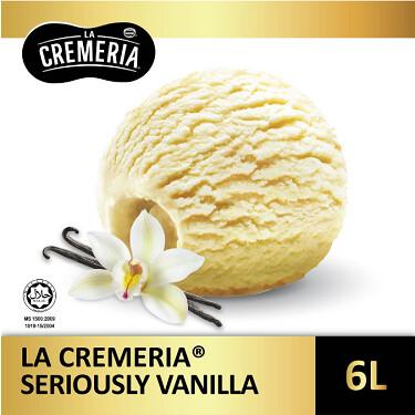 LA CREMERIA Seriously Vanilla 6Litre