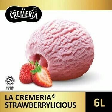 LA CREMERIA Strawberrylicious 6Litre