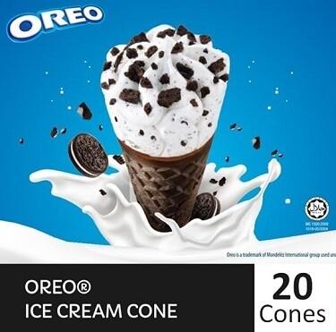 NESTLÉ OREO Ice Cream Cone (20 Cones)