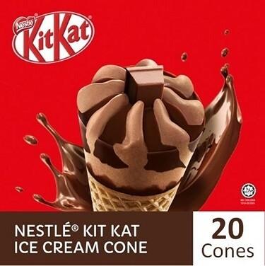 NESTLÉ KITKAT Ice Cream Cone (20 Cones)