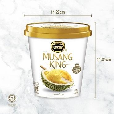 NESTLÉ Musang King (1 Pint, 750ml)