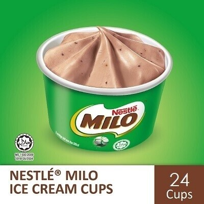 Nestlé MILO Ice Cream Cup (24 Cups)