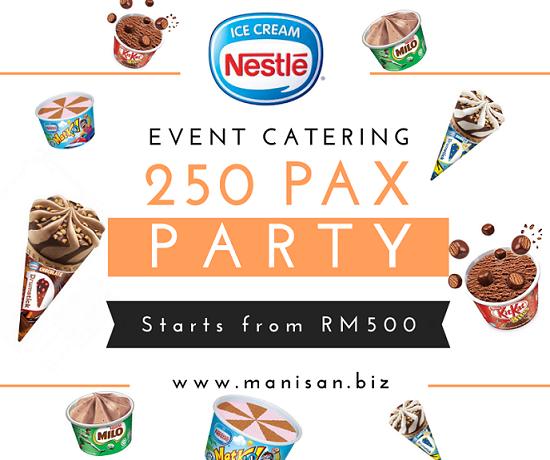 Nestle Ice Cream Event Catering