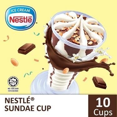 NESTLÉ Sundae Cup (10 cups)