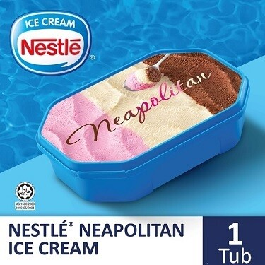NESTLÉ Neapolitan Frozen Confection 1.5L