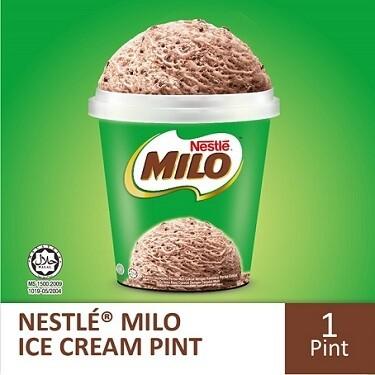 Nestlé MILO Ice Cream Pint (1 Pint, 750ml )