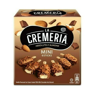 Nestlé La Cremeria Mini Almond Vanilla Ice Cream (6pcs x 45ml)