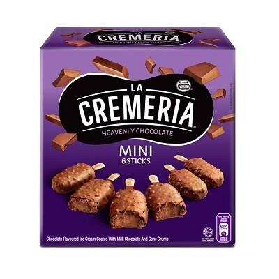 Nestlé La Cremeria Mini Heavenly Chocolate Ice Cream (6pcs x 45ml)
