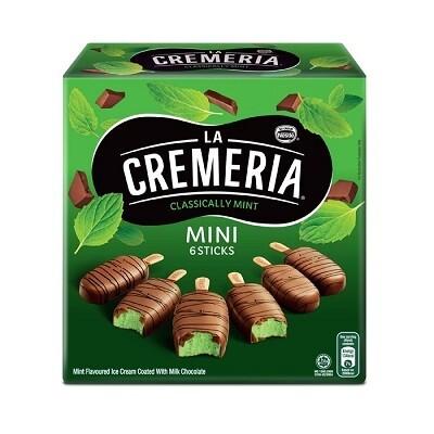 Nestlé La Cremeria Mini Classically Mint Ice Cream (6pcs x 45ml)