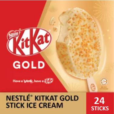 NESTLÉ KITKAT GOLD Stick Ice Cream  (24 Sticks)