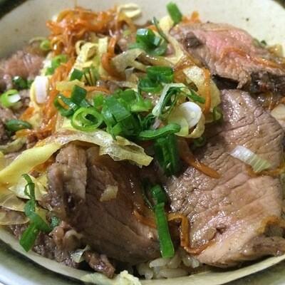Roast Beef Gyudon
