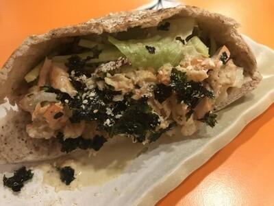 Shrimp Pita Sandwich