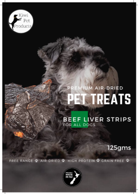 Beef Liver Strips All dogs -125 gms