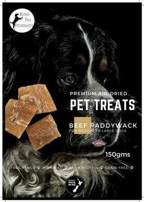 Beef Paddy Wack-150 gms For Big Dogs