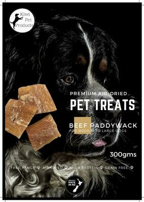 Beef Paddy Wack-300gms For Big Dogs