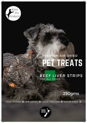 Beef Liver Strips-250 gms All dogs