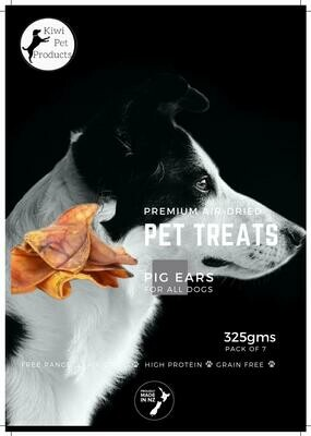 Pig Ears - 10 pack All dogs