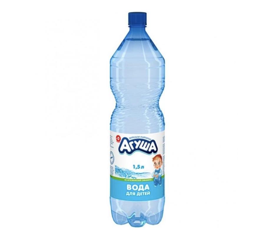 """Вода детская н/г """"Агуша"""" 1,5л"""