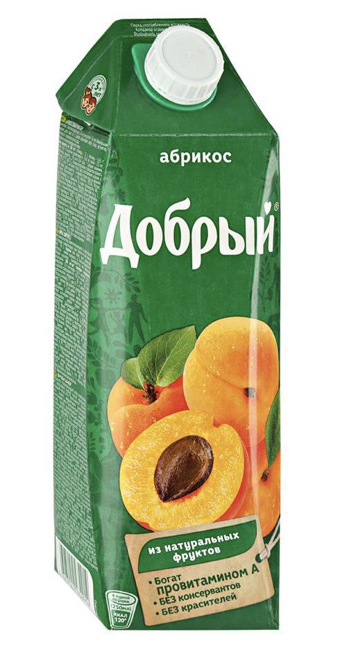 "Нектар ""Добрый"" абрикос 1 л."