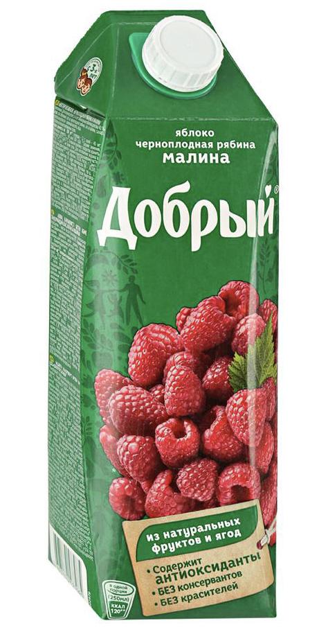 """Нектар """"Добрый"""" малина 1 л."""