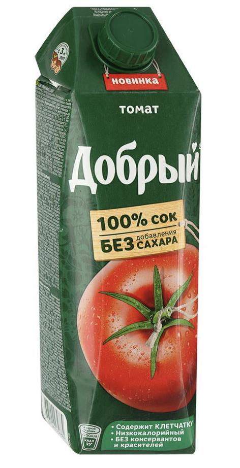 "Сок ""Добрый"" томат 1 л."