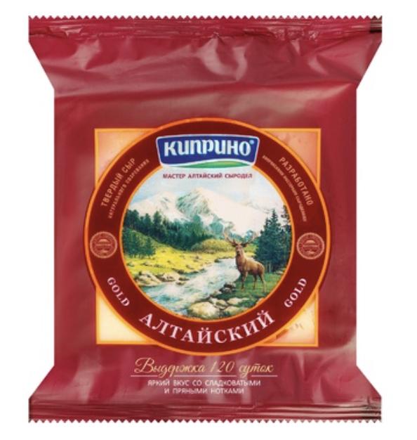 """Сыр полутвердый """"Алтайский"""" Киприно, кг"""
