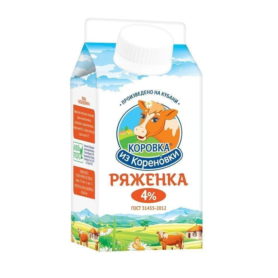 РЯЖЕНКА 4% Коровка из Кореновки