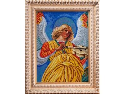 Music-making angel. Secondo
