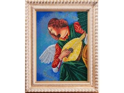 Music-making angel. Terzo