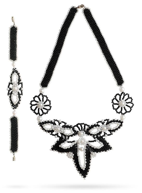 Necklace Die Fledermaus (The Bat)