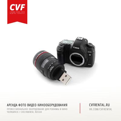 Брелок - USB флешка Фотоаппарат