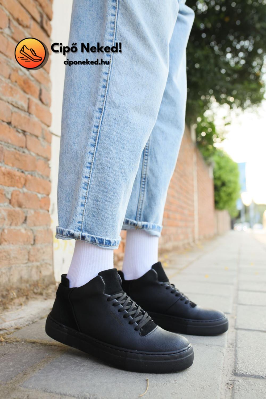 Taba Desert Black Utcai Cipő