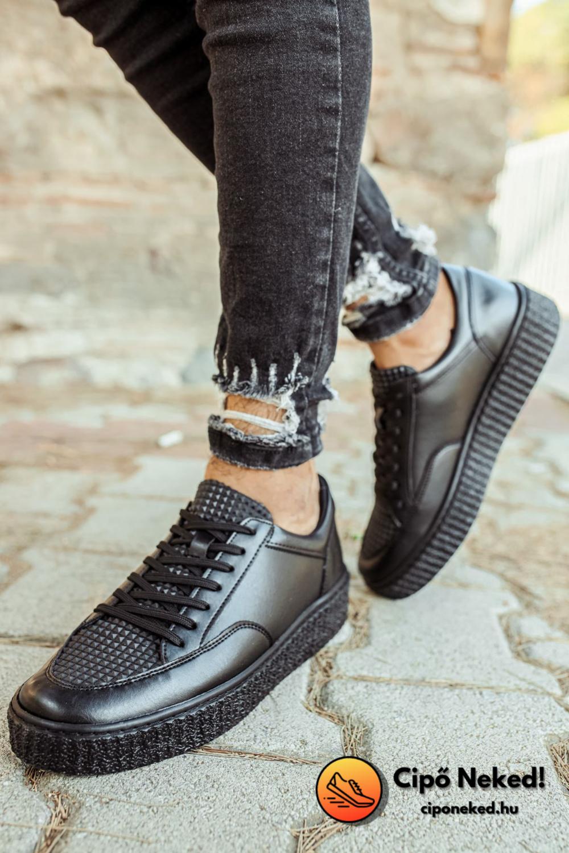 Kare Slick Black Cipő