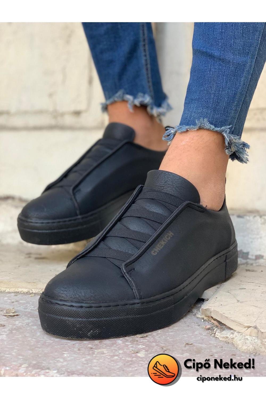 Sokak All Black Cipő