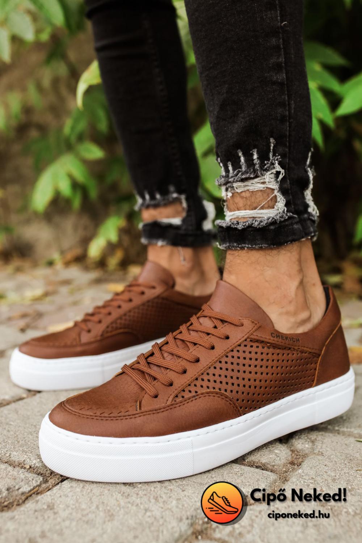 Semt Tobaco Brown Cipő