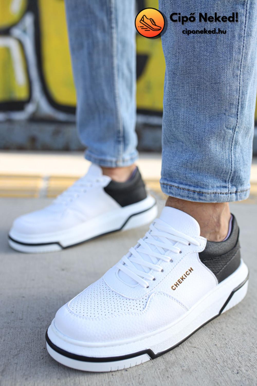 Urblox Black Line Cipő