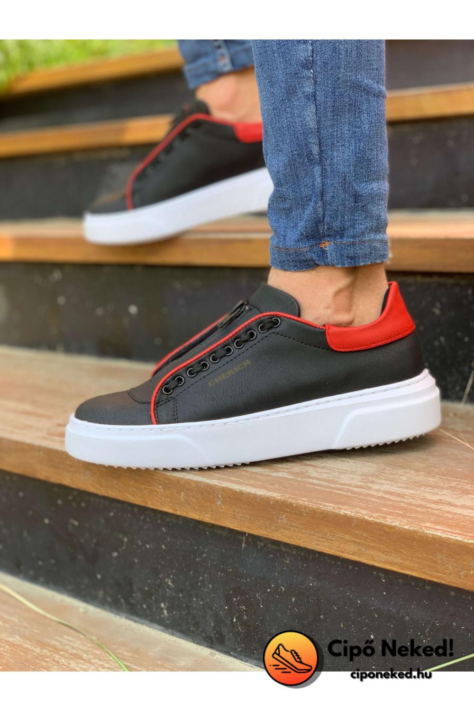 Ash Red Line Fekete Cipő