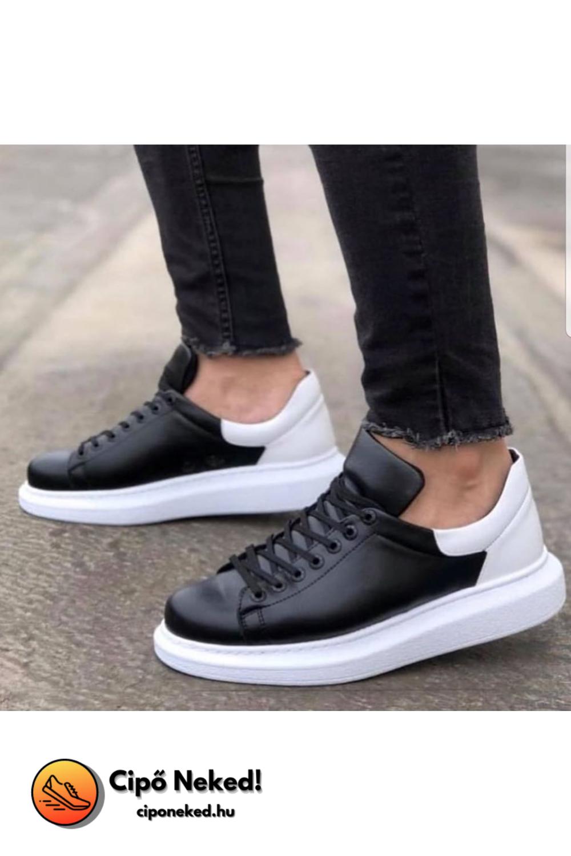 Iskender Duo Black Base Cipő