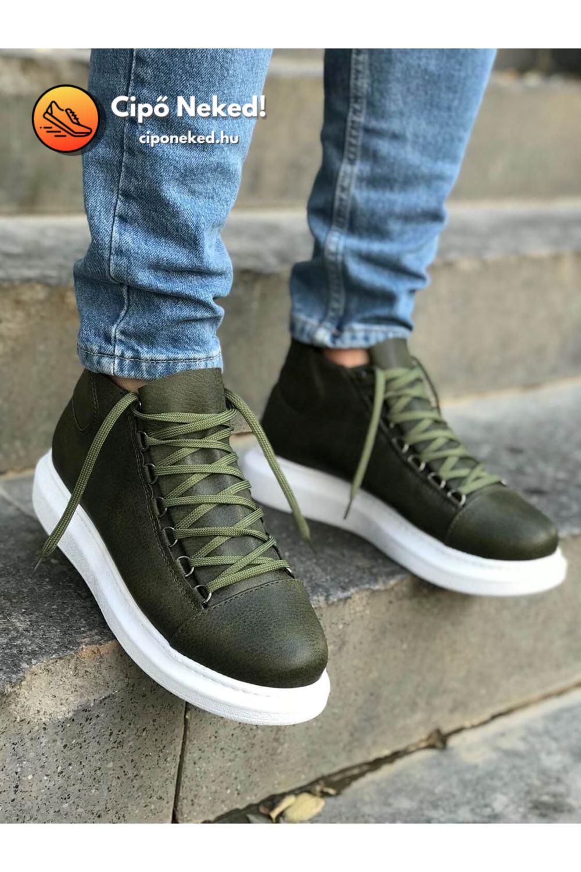 Gaviria Khaki Zöld Cipő