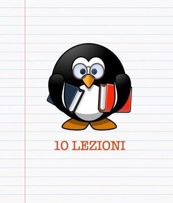 PACCHETTO 10 LEZIONI
