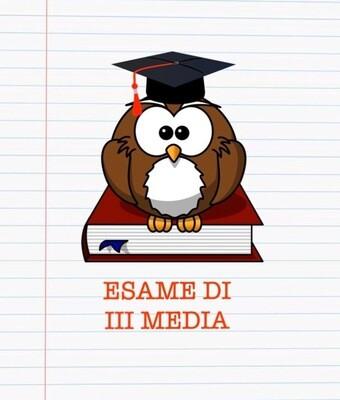 SPECIALE ESAME III MEDIA